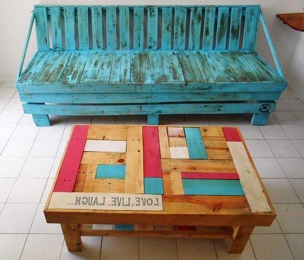 Muebles Con Estibas De Madera Estibas De Madera Bogot